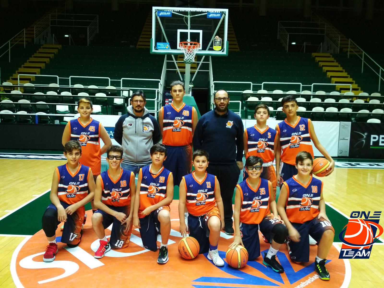 Read more about the article One Team: l'Under 13 Elite ancora imbattuta. L'Under 18 dice addio all'Interzona